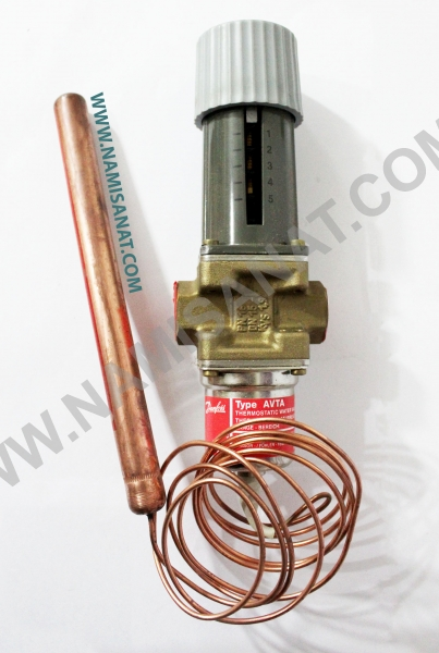 Type AVTA, Type AVTA , Type, AVTA , DANFOSS , Danfoss , Thermo , operated ,water, valve ,