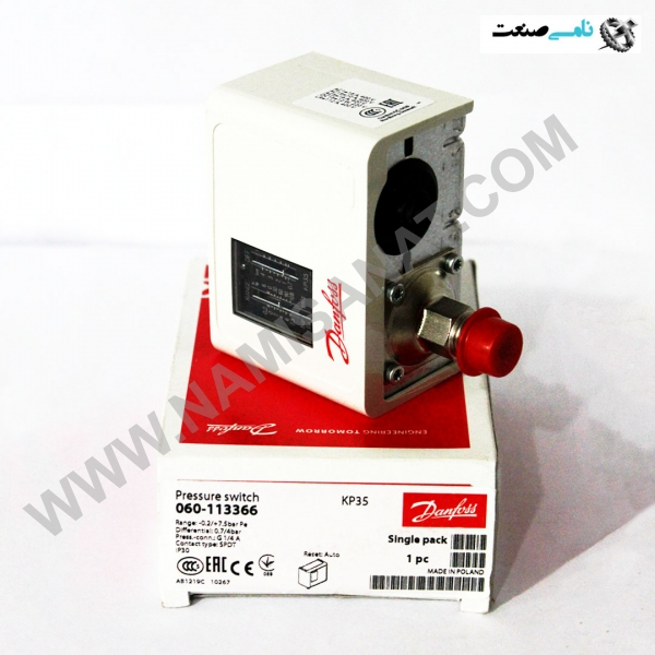 KP35, KP35,Pressure switch and thermostatTypes KP,thermostatTypes,switch,Pressureترموستات,کنترل,نظارت,سوئیچ های فشار,برق صنعتی,